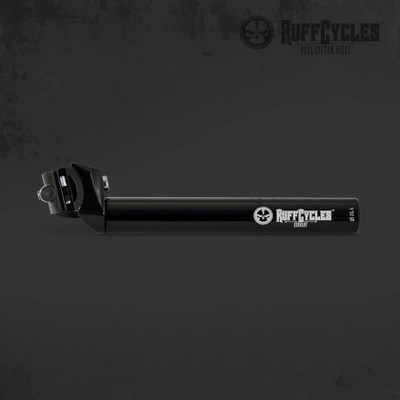 RUFF Cycles 25.4mm Black Seat Post