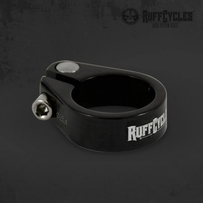 RUFF Cycles 25.4mm Seat Post Clamp, Black