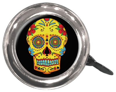 Bells; Lever-Action, Swell Bell Sugar Skull