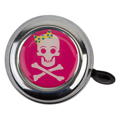 Bells; Lever-Action, Swell Bell Pink Skull