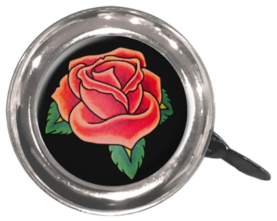 Bells; Lever-Action, Swell Bell Tattoo Rose