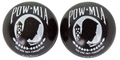 Valve Stem Caps; Trik Topz POW MIA
