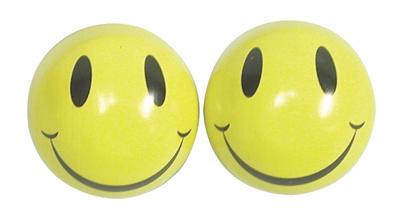 Valve Stem Caps; Trik Topz Happy Face