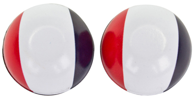 Valve Stem Caps; Trik Topz France Flag