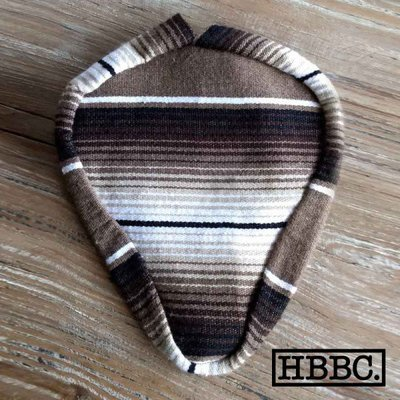 Seat Covers; Authentic Mexican Blanket, Brown and Black