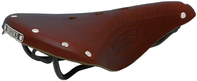 Brooks B17 Standard Saddle Antique Brown, w/ Black Rail