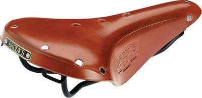 Brooks B17 Standard Saddle Honey Brown, w/ Black Rail