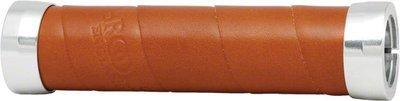 Brooks Slender Leather Grips, Honey Brown