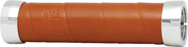 Brooks Slender Leather Grips, Honey Brown