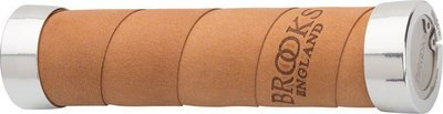 Brooks Slender Leather Grips, Aged Leather