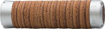 Brooks Adjustable Length Leather Ring Grips, Brown