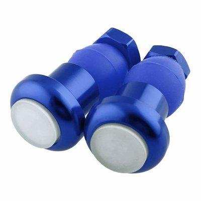 Lights; TULAS Handlebar End Cap Plug Lights, Blue