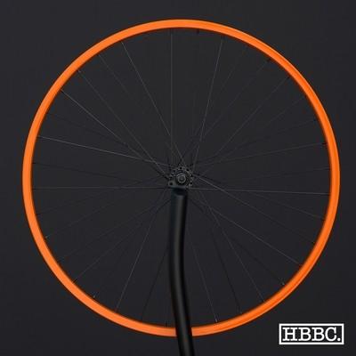 HBBC Single Speed Wheel Set, Orange