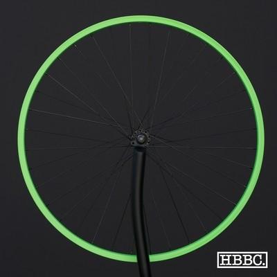 HBBC Single Speed Wheel Set, Green