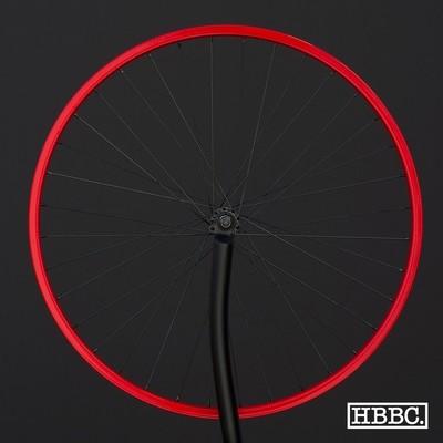 HBBC Single Speed Wheel Set, Red