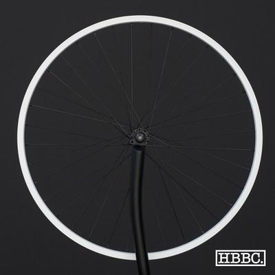 HBBC Single Speed Wheel Set, White