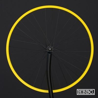 HBBC Single Speed Wheel Set, Yellow