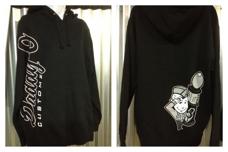 Apparel; Daddy-O Customz Traditional Hooded Sweatshirt