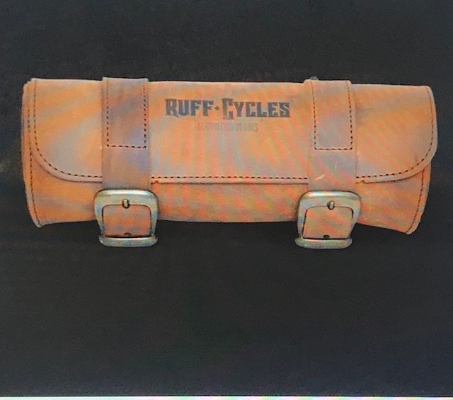 Accessories; RUFF Cycles Tool Bag Leather, Brown