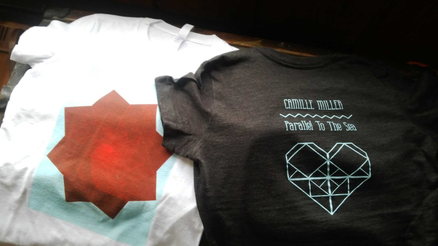 Parallel to The Sea T-shirts