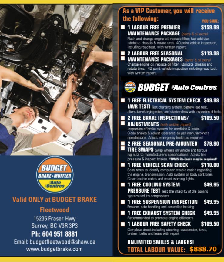 Budget Brake and Muffler Fleetwood (Fleetwood - Surrey)