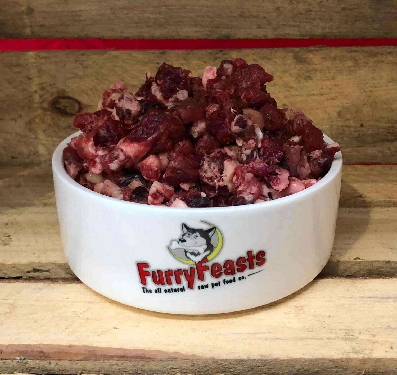 Furry Feasts Meaty & Chunky (1kg)