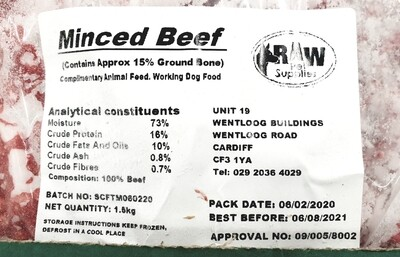 RPS Beef 1.5kg **TO CLEAR**