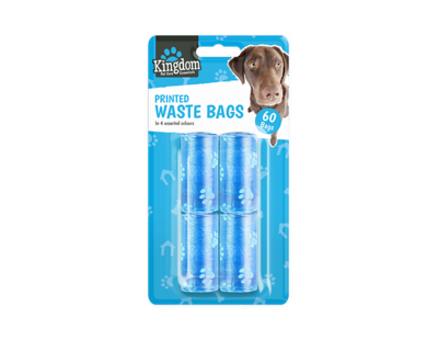 Dog Waste / Poo Bags (Pack of 60)