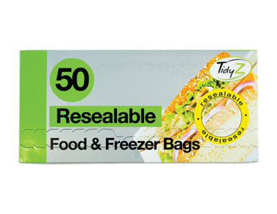 Resealable Food Bags (50)