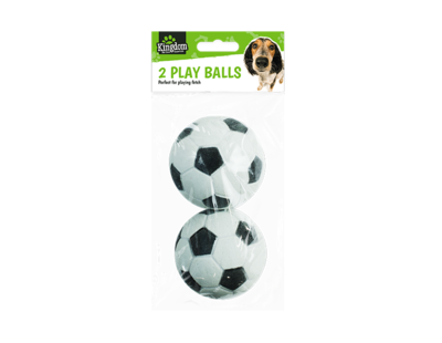 Pack of 2 Play Balls (rubber)