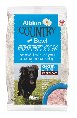 Albion Country Bowl Freeflow Chicken & Tripe (2kg)