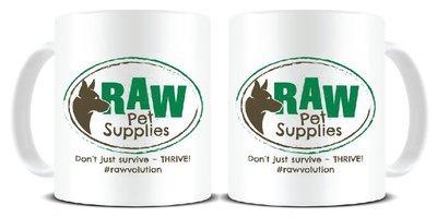 "Raw Pet Supplies ""THRIVE"" Mug"