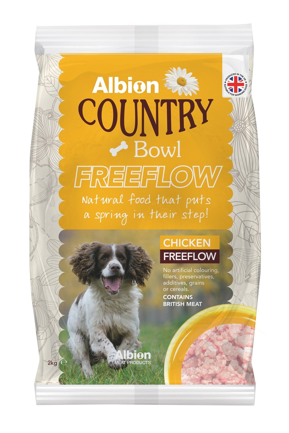 Albion Country Bowl Freeflow Chicken (2kg)