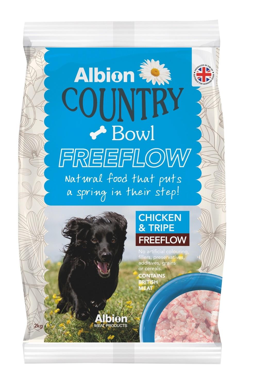 Albion Country Bowl Freeflow Chicken & Tripe (2kg)