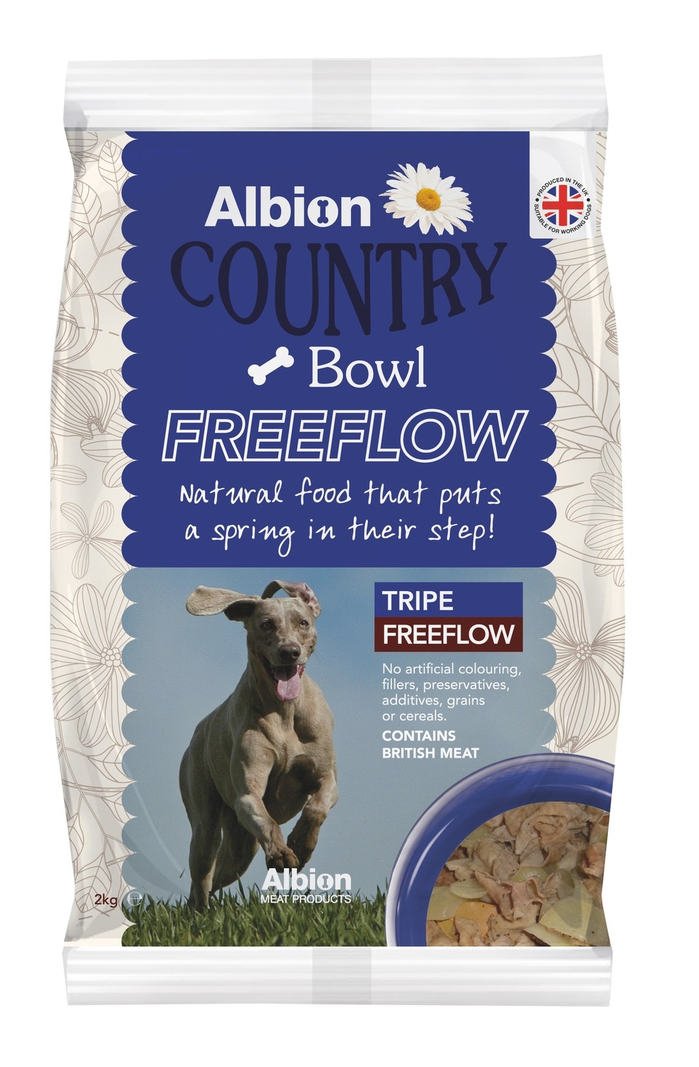 Albion Country Bowl Freeflow Tripe (2kg)