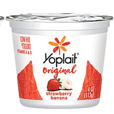 Strawberry & Banana Yogurt (4 oz)