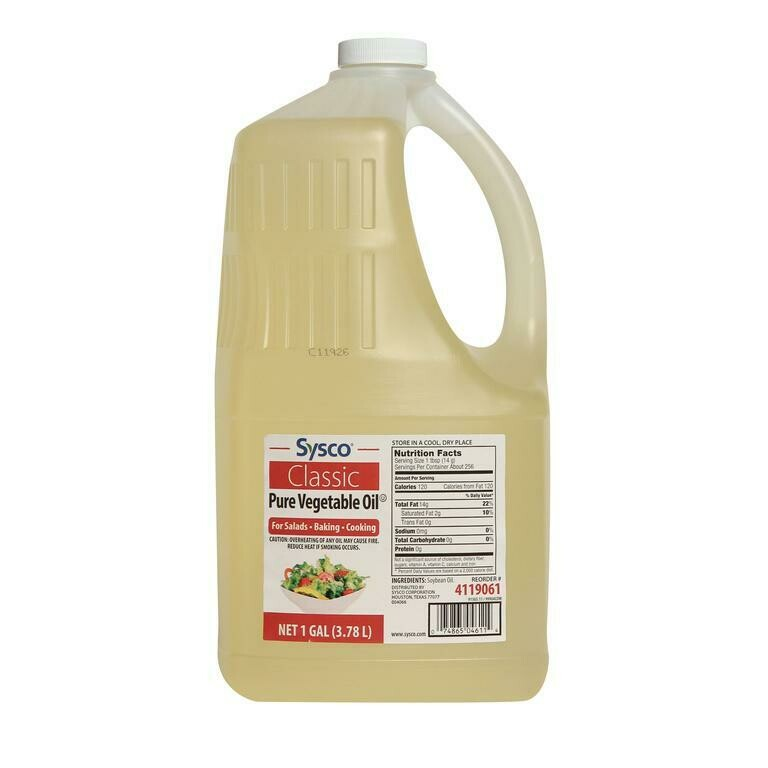 Vegetable Oil - Pure (1 Gal)