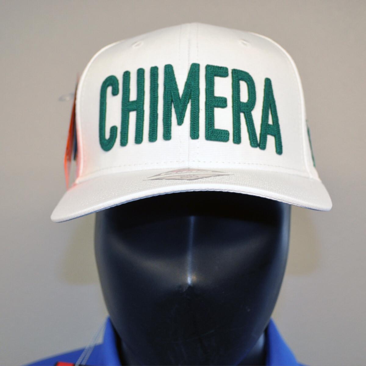 Men's Golf Hat - OSFA White/Green