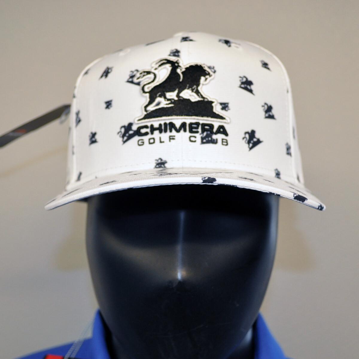 Men's Golf Hat - OSFA White/Black