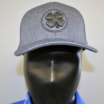 Men's Golf Hat- Live Lucky hat - OSFA Gray/Gray