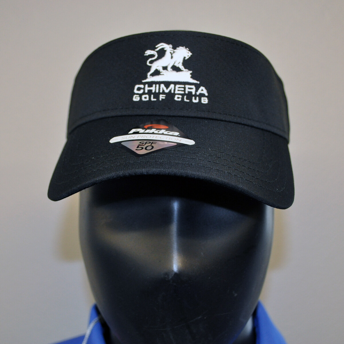 Men's Golf Visor - OSFA Black/White