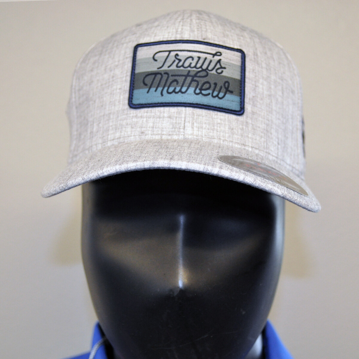 Men's Golf Hat - Travis Mathew - OSFA Gray/Navy