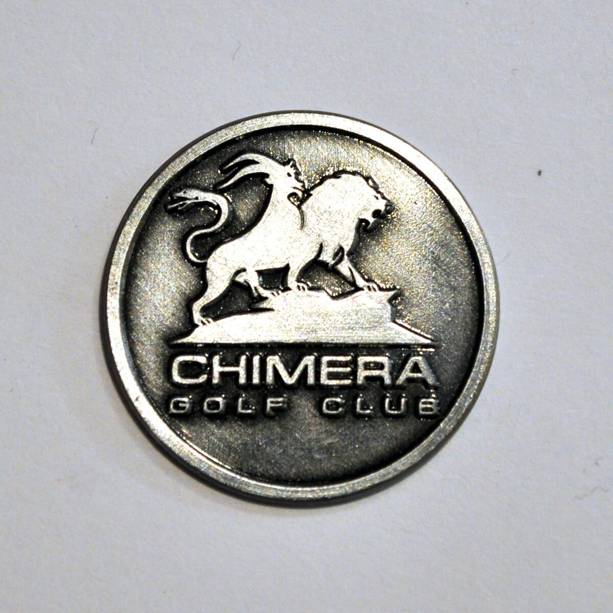 Ball Marker - Bare metal Chimera