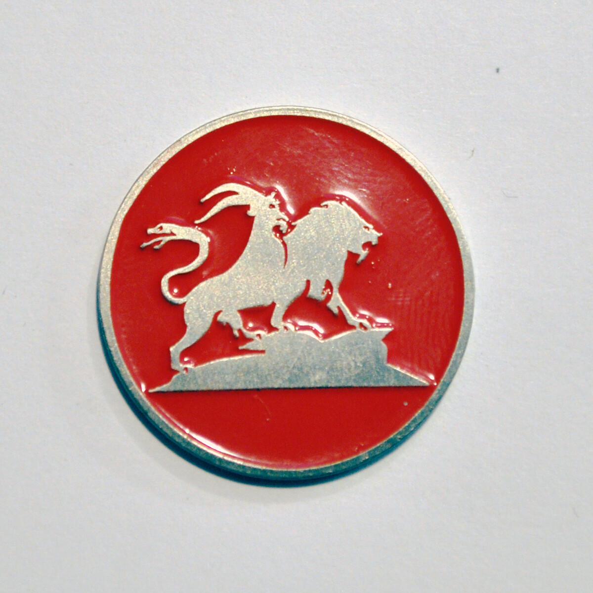 Ball Marker - Red Chimera/Vegas