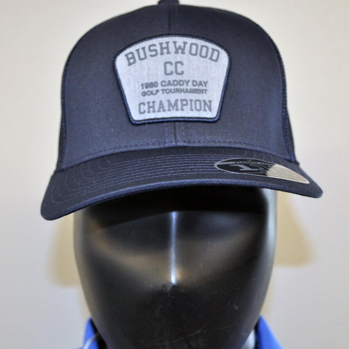 "Men's Golf Hat - Travis Mathew ""Bushwood"" - OSFA Navy/Gray"
