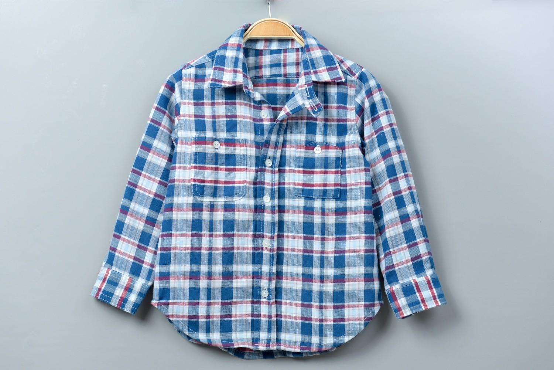 和風長袖襯衫-訂製 英格蘭