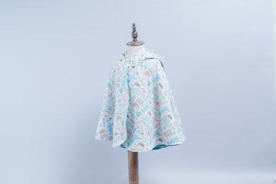 雙面雨衣斗篷-訂製 動物4-紗