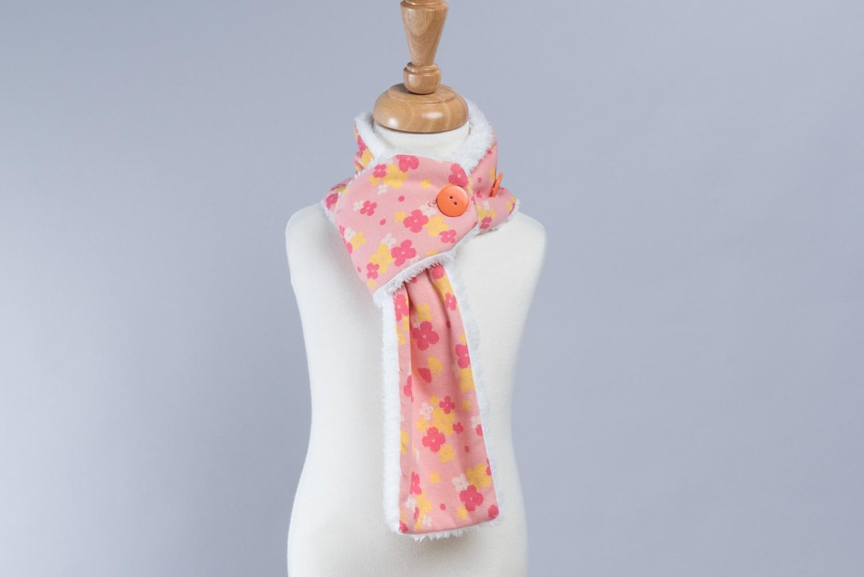 鈕扣圍巾(約85cm)-訂製
