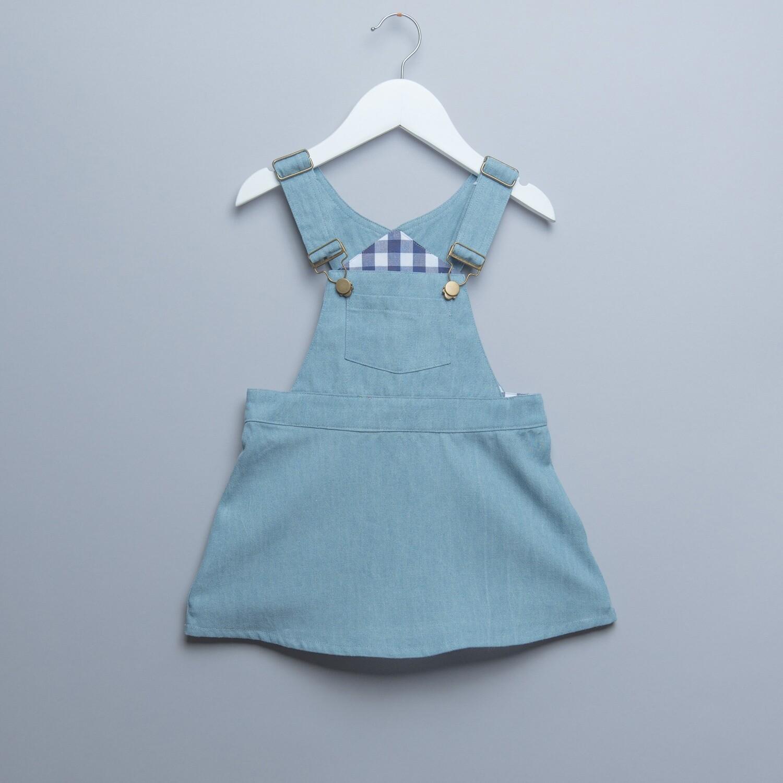 """吊帶短裙-""""現貨"""" 淺牛系列 90cm"""