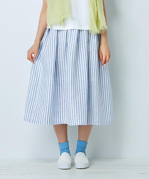 半身裙-訂製 棉麻